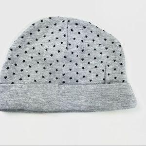 "Grey ""Stars"" baby hat (FREE to add to bundle)"